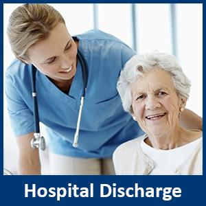 hospital discharge home care service toronto North York